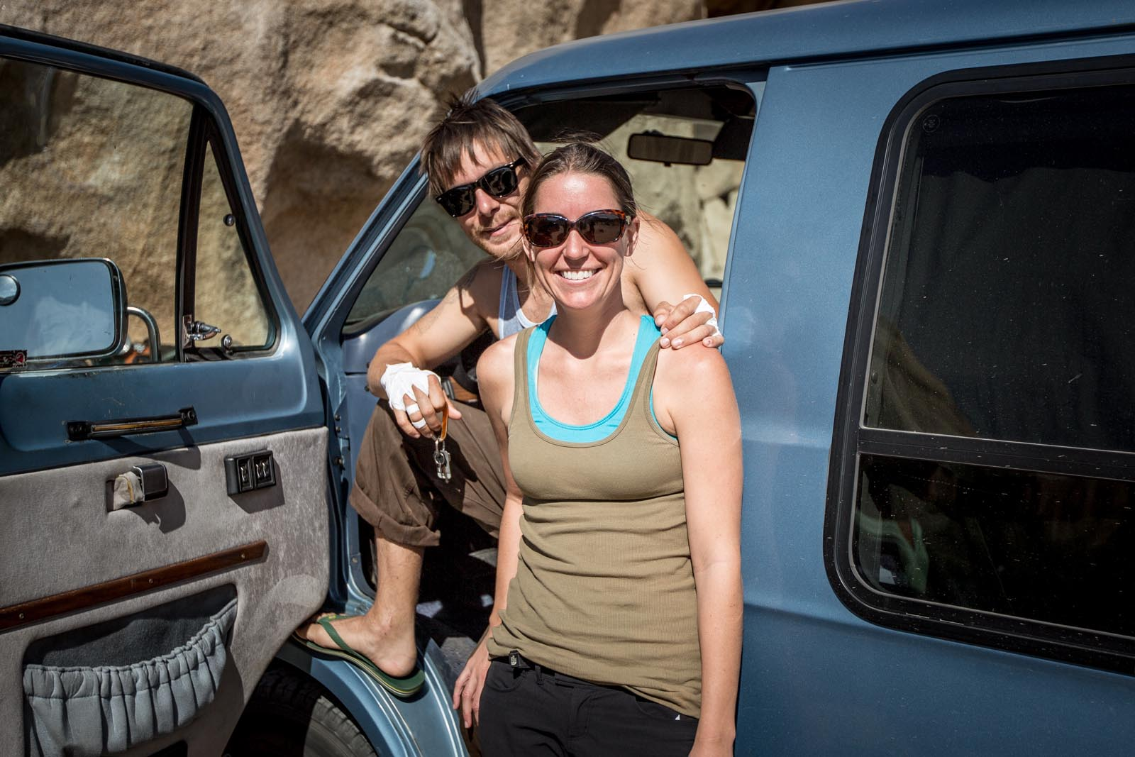 Corey and Autumn are amazing!  They are traveling by van for 6 months through the wild west!