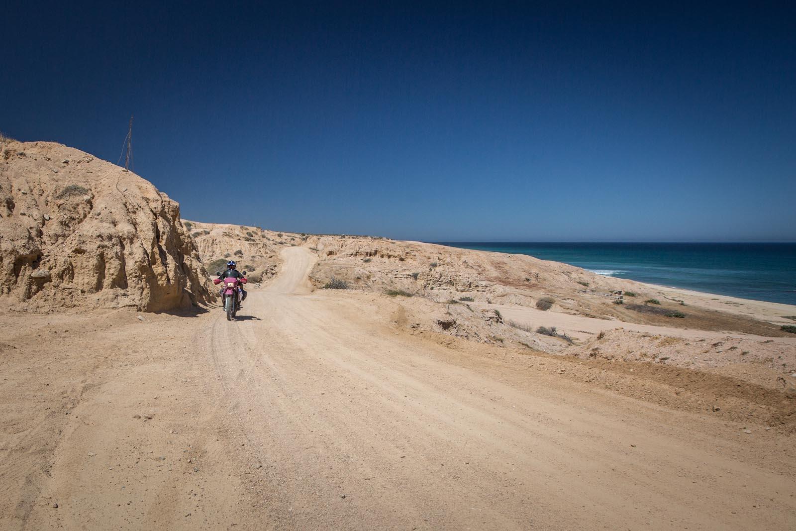 Cabo san Pulmo to San José del Cabo via the scenic east cape route. See mom, no bike drops!