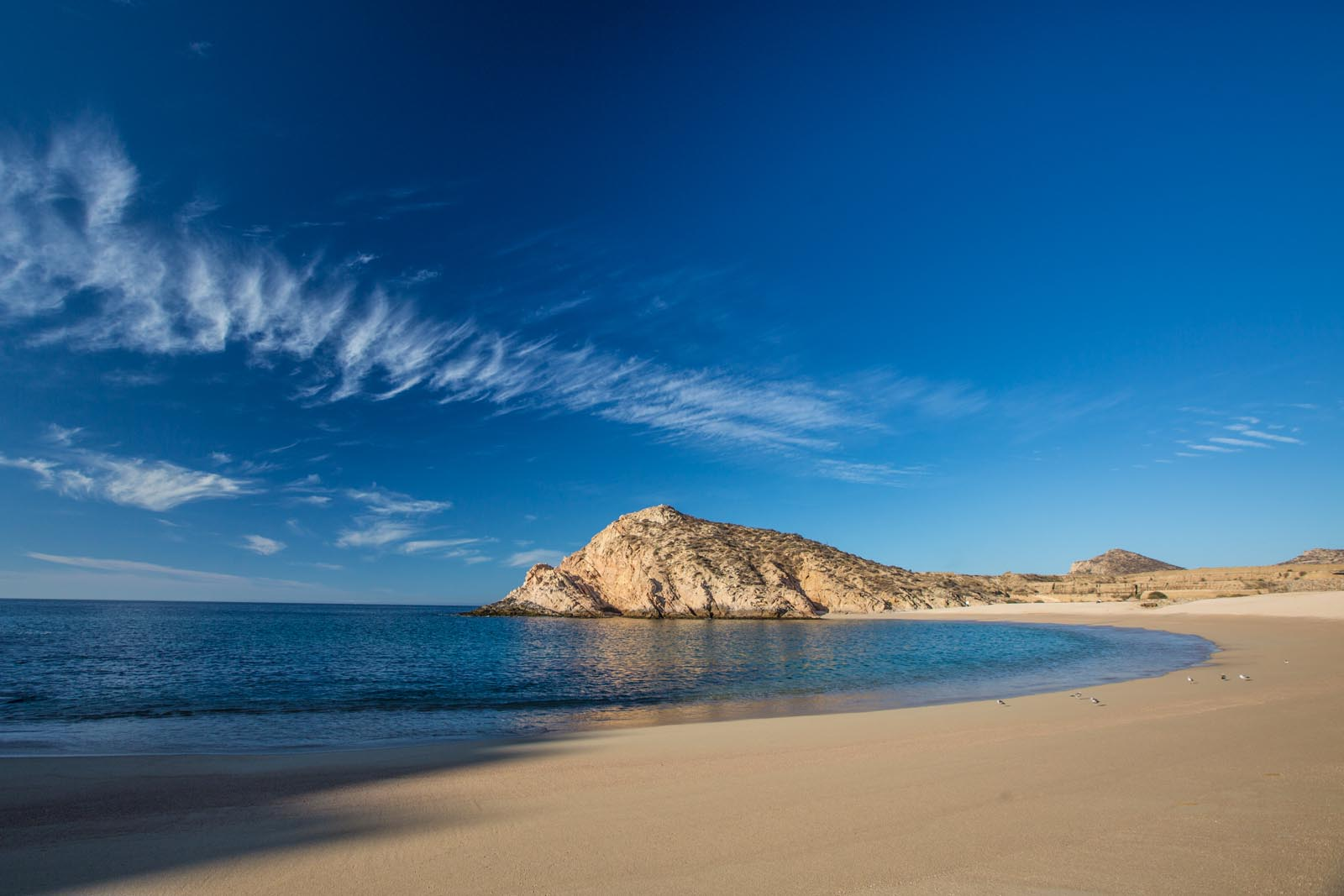 Our very own secluded beach for camping close to Cabo. If we had found out about it sooner, we may never have left this place, although the water is still much warmer back in La Paz.