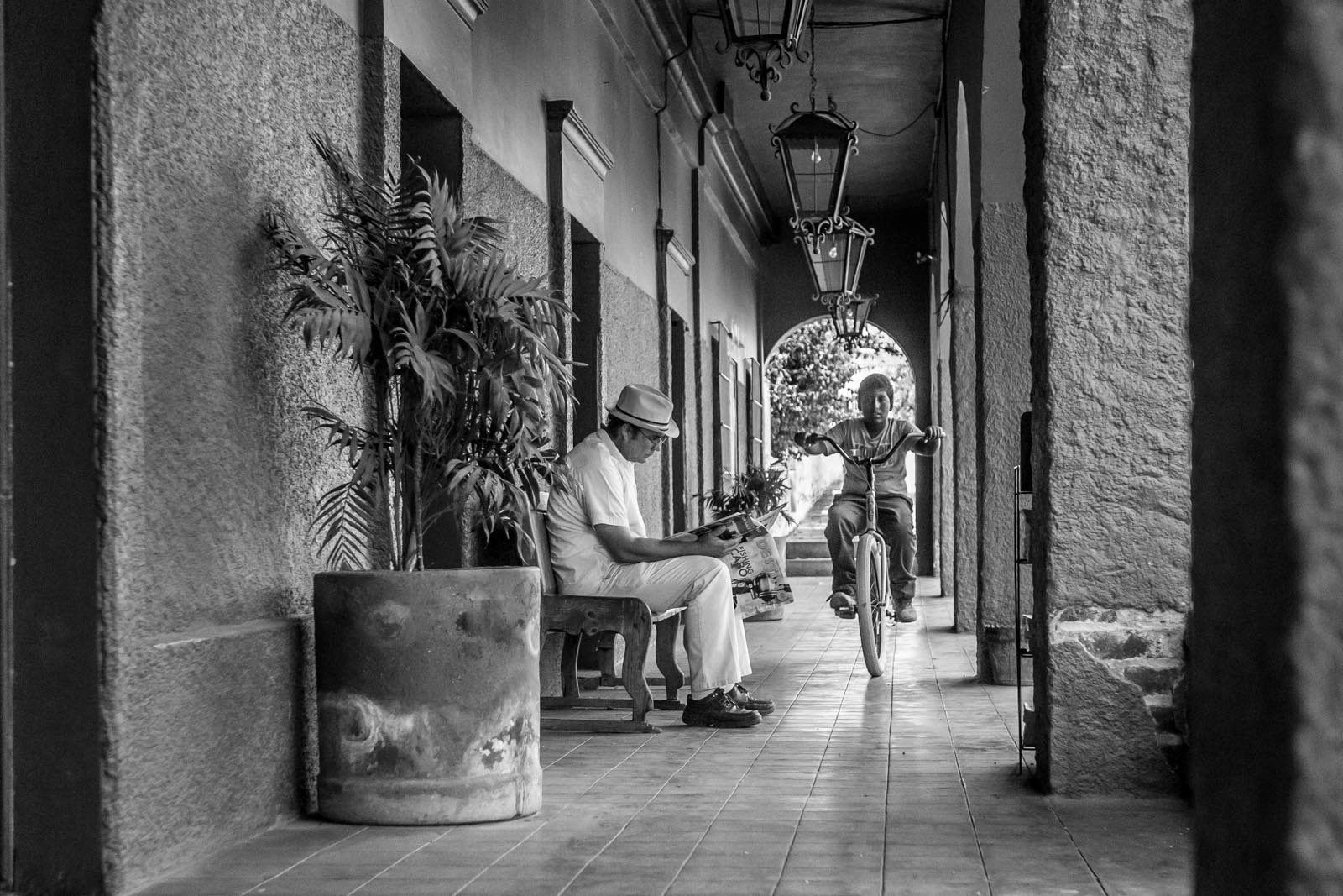 THE Hotel California in Todos Santos. You can check-out any time you like, but you can never leave...