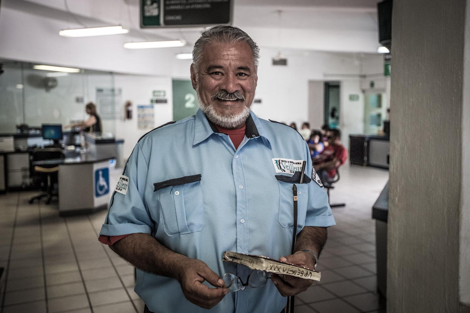 Ferdinando, the friendly security guard that interpreted for us and gave us so many good food recommendations that I was salivating before I received any vaccinations.