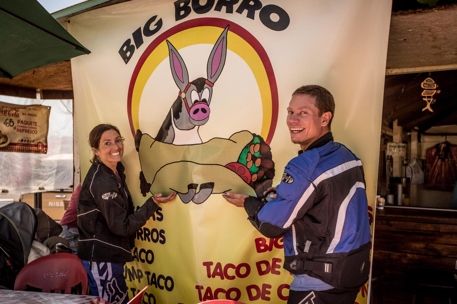 Let us help you hold the big burro, Big Burro :)