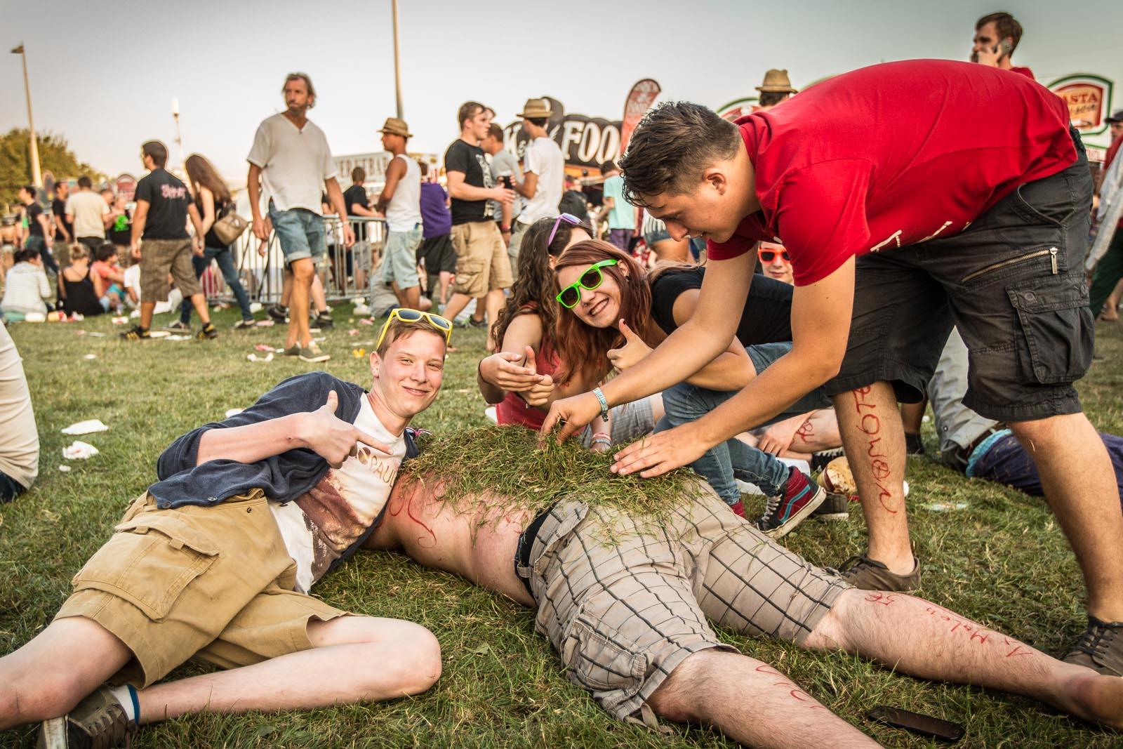 Festival camoflage.
